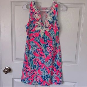 Lilly Pulitzer Harper Cosmic Coral Dress size XS